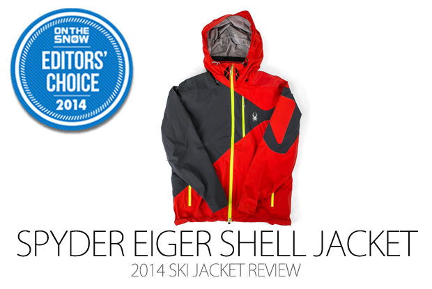 Spyder Eiger Shell Jacket, 2014 Editors Choice Men Ski Jacket - © Julia Vandenoever
