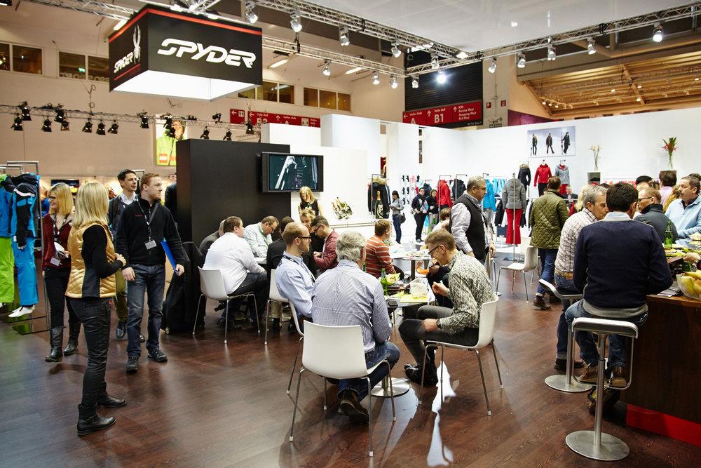 Spyder stand - ISPO 2014 - ©Messe München GmbH