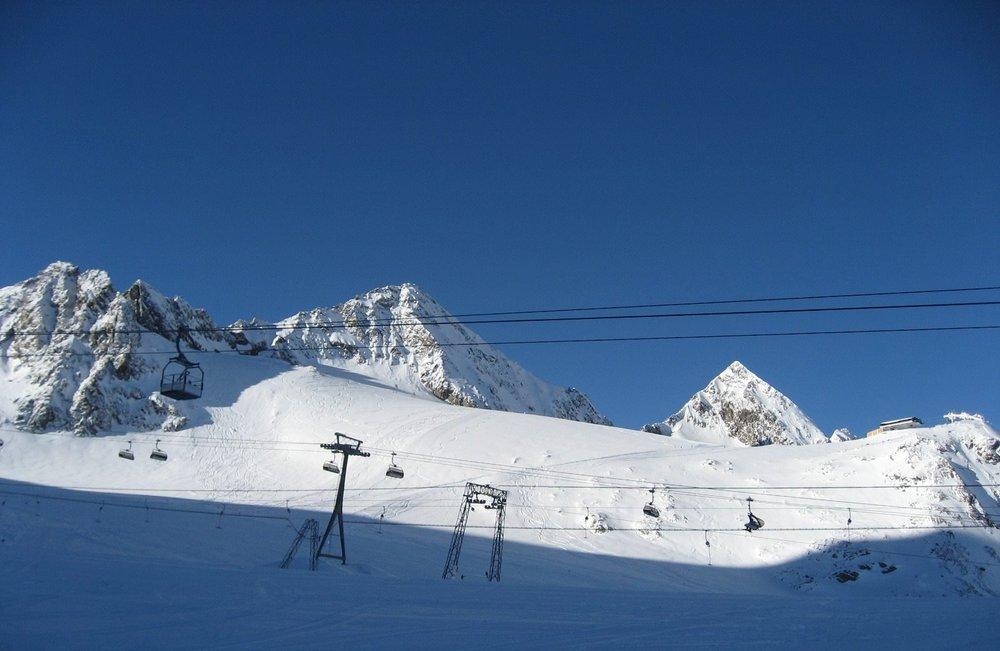 Stubai glacier Jan. 15, 2014 - ©Facebook Stubaier Gletscher