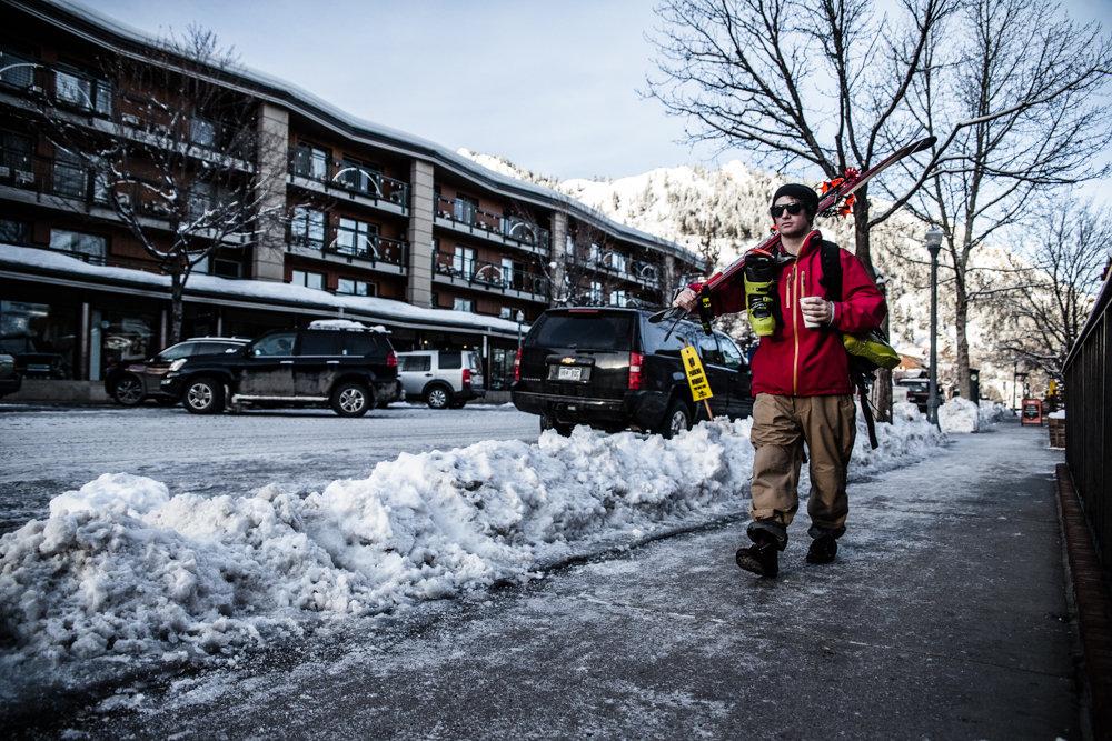 TJ David has one of the best commutes in Colorado. - © Liam Doran