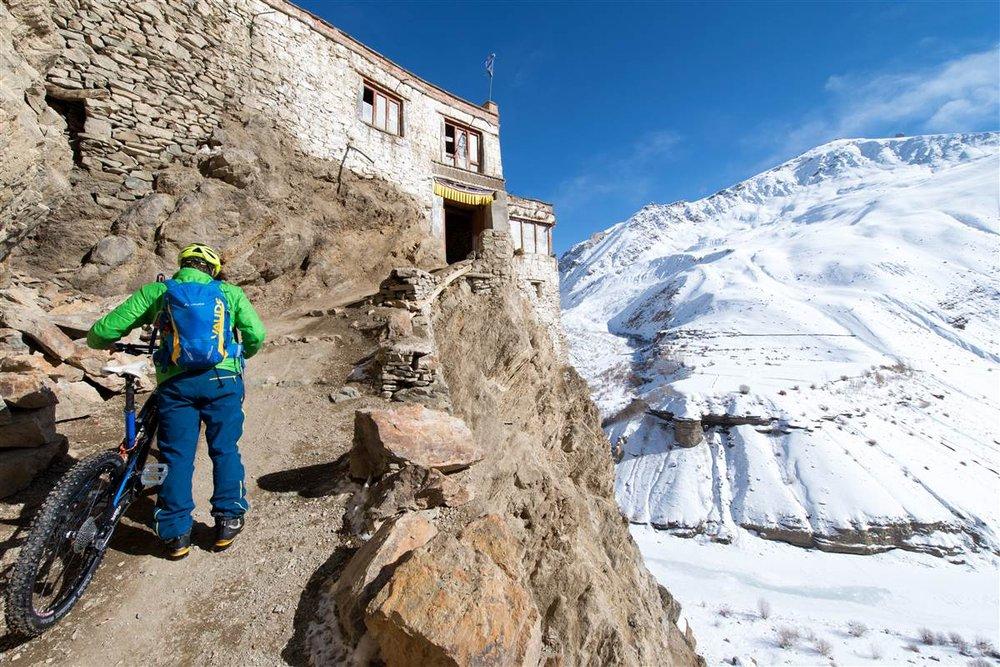 Claude Balsiger auf seiner Transhimalaya Expedition - © Martin Bissig