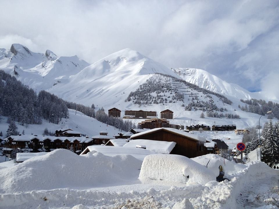 Val d'Allos Jan. 17, 2014
