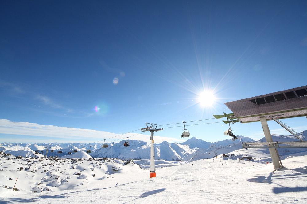 Na szczycie wyciągu Viderjochbahn - © Skiinfo