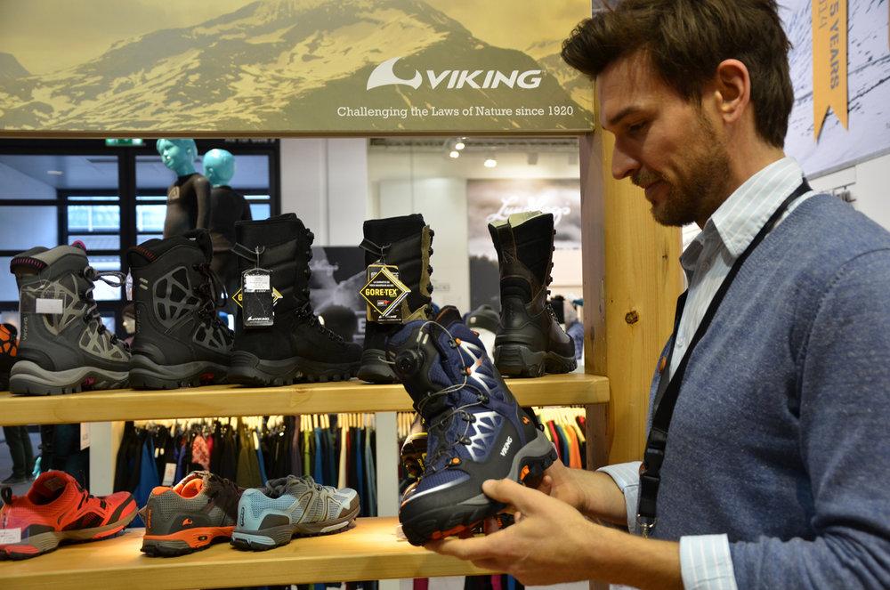 Viking's new winter hiking boot