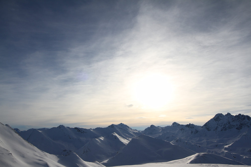 Ausblick vom Piz Val Gronda - © Skiinfo