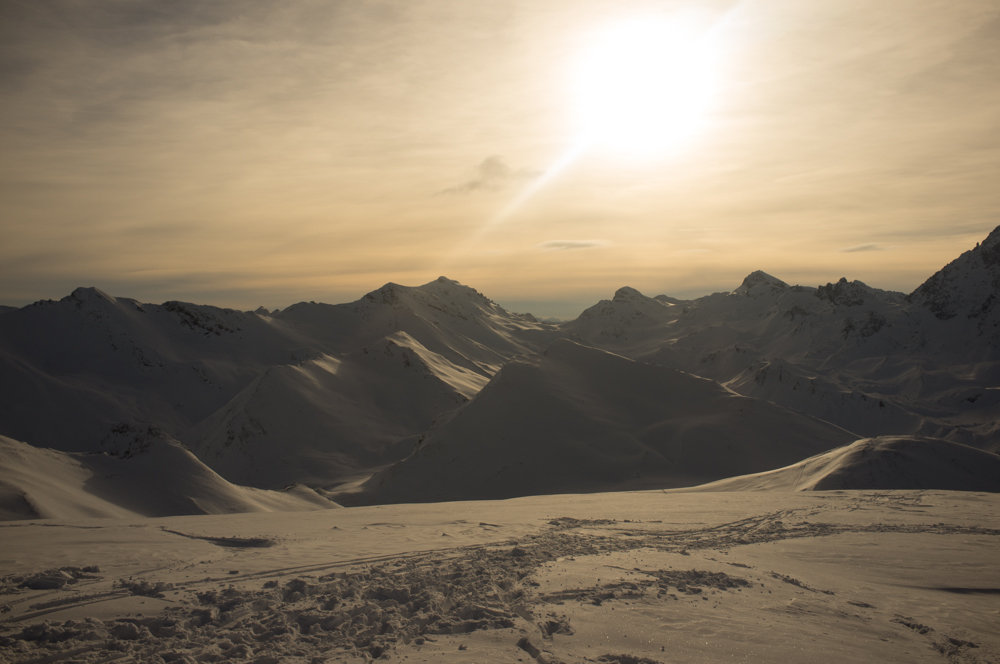 Ausblick Piz Val Gronda - © Tim Bode