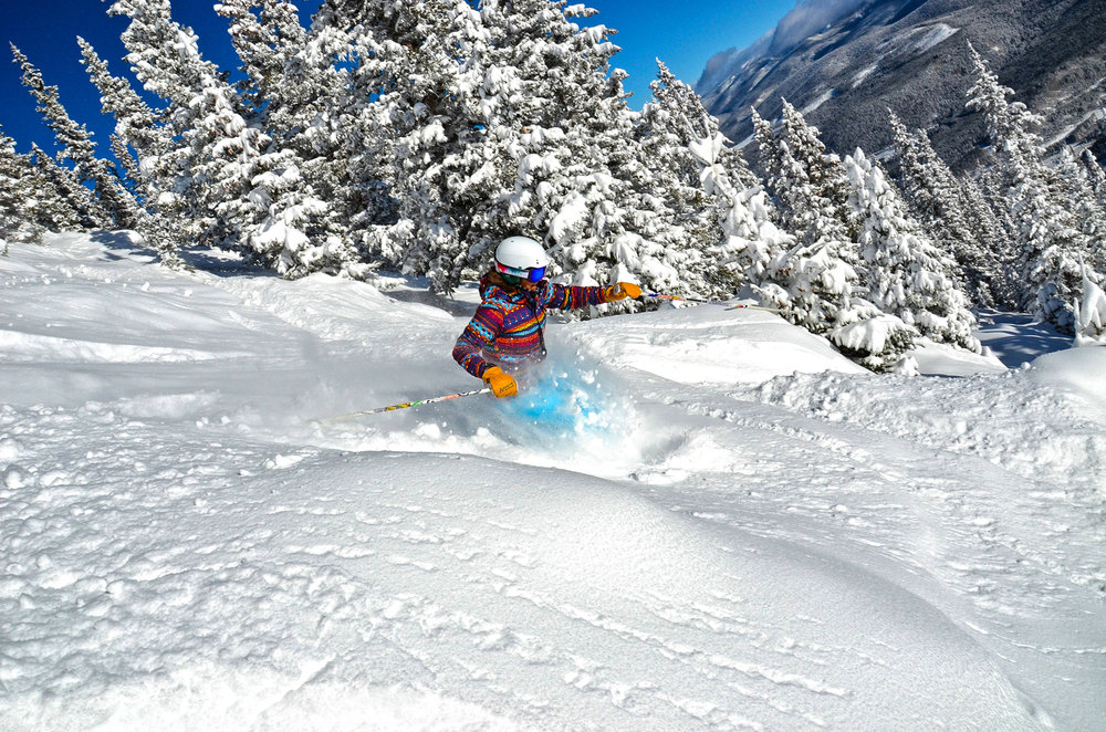 Ski the powder at Winter Park. - © Photo courtesy Winter Park Resort.