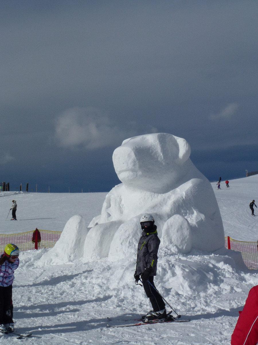 Aparte sneeuwformaties op de Schmittenhöhe - © Schmittenhöhebahn AG