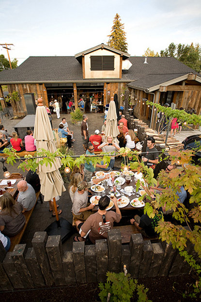 10 Barrel Brewing Co. has the beer, the pizza, the outdoor patio and the fire pit to make it one of Bend's top breweries to visit.  - © 10 Barrel Brewing Co.