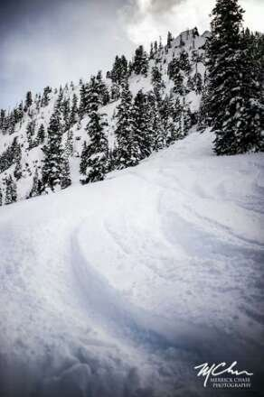Nearly waist deep on the steeps the week before the Extremes- and it's still coming -get yourself to the Butte!