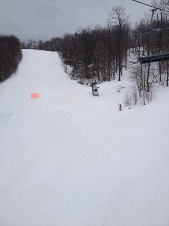 Great day to be at BK! Packed powder and deserted slopes made for some great skiing!