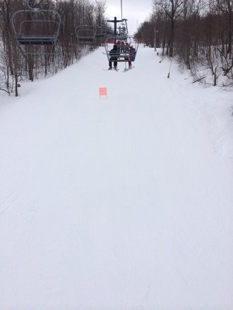 New snow reports were false. While there was some there are icy spots on every run.
