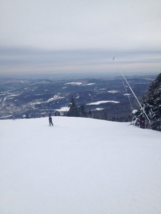 Trails are in great condition. Lines not too bad for the weekend. Okemo continues to provide a great experience.