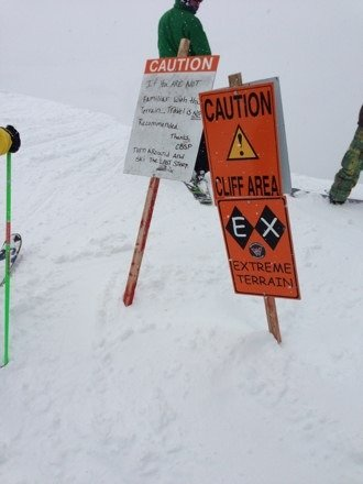 North face was awesome. DEEP all over the mtn...