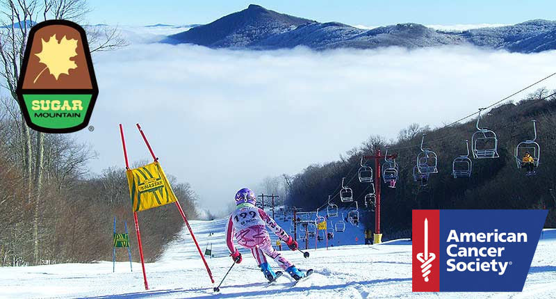 Charge the NASTAR gates at Sugar Mountain to support the American Cancer Society. - © Sugar Mountain