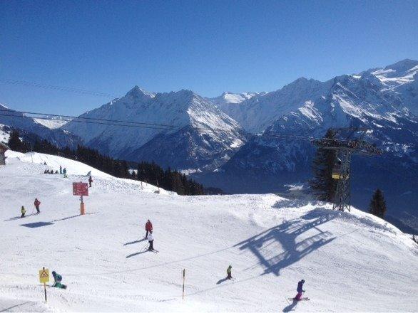 Wunderschöner Skitag