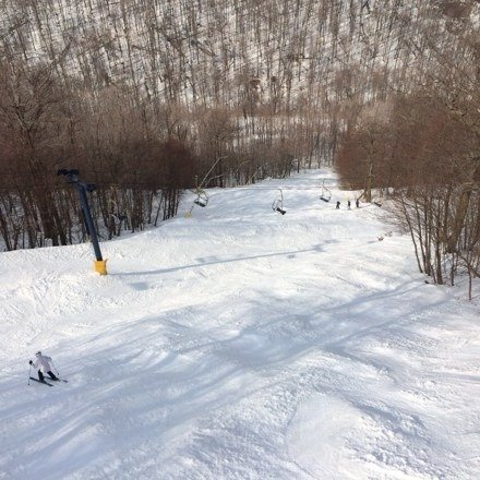 "Great spring ski at the ""Knob"" conditions really good!"