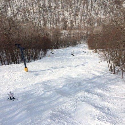 Great spring ski at the