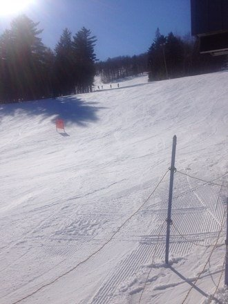 Had a great time yesterday on the black runs at Spirit Mountain. Snow was nice on the more challenging runs although when the sun goes down things tend to get icey in a hurry.