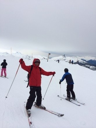 Great on whistler.