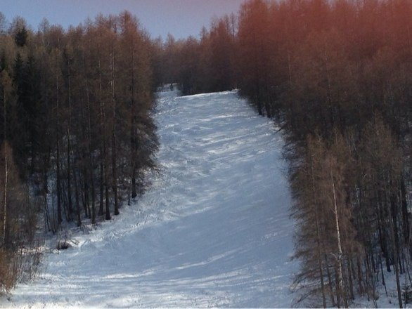 Slopes at campo smith