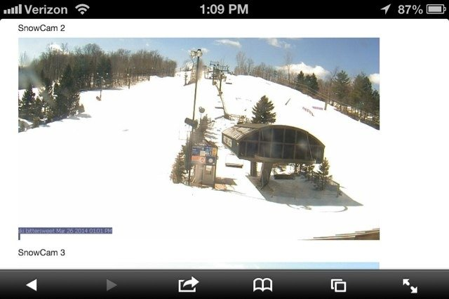 Wow !! Bluebird skies and a groomer!  I should be there now.  Please open this weekend.  CBS President