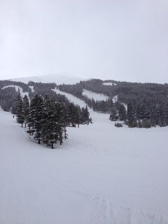 Awesome day at Breck.