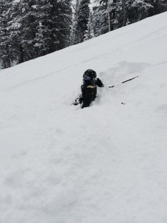 What a great day!  Pow Pow all day, you could find open spots after lunch.