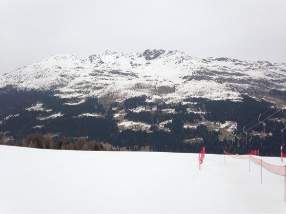 Good piste considering it's almost end of season