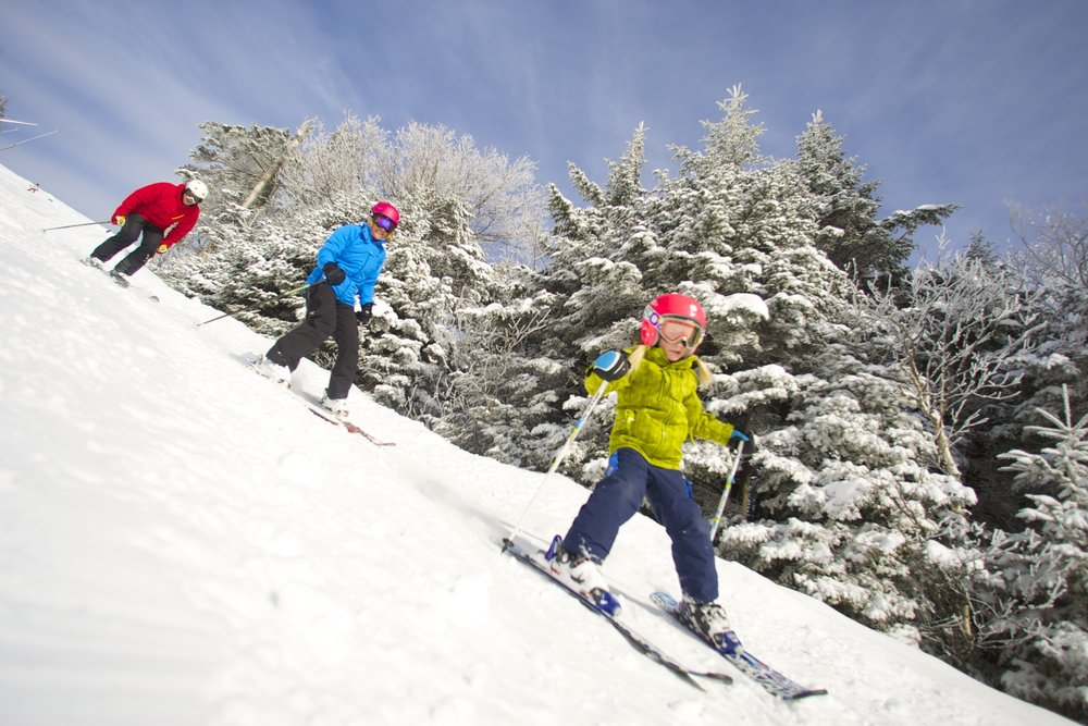 A carefree skiing vibe has always been a part of Okemo's master plan. - © Okemo Mountain Resort