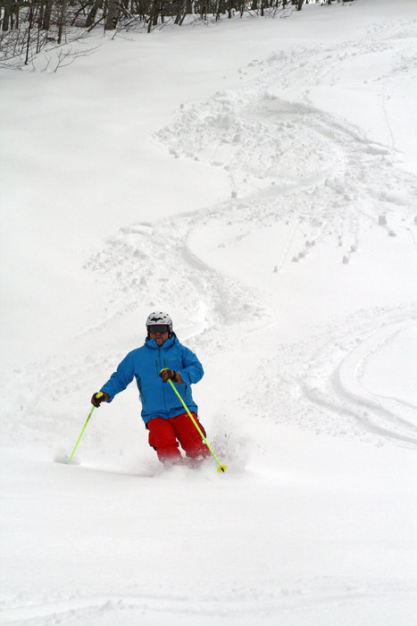 Legit powder at Indianhead, Michigan. - © Indianhead Mountain Resort