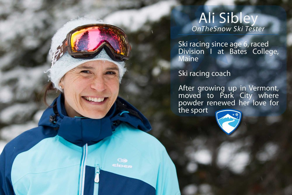 "Ali Sibley, 40. What's the worst thing that's ever happened to you while skiing? ""I once hit a huge rut on a GS course on Skylark at Killington, VT. I pre-released and landed with my pole into my stomach, under my ribs. It was incredibly painful, but nothing broken or ruptured.""  - ©Cody Downard Photography"