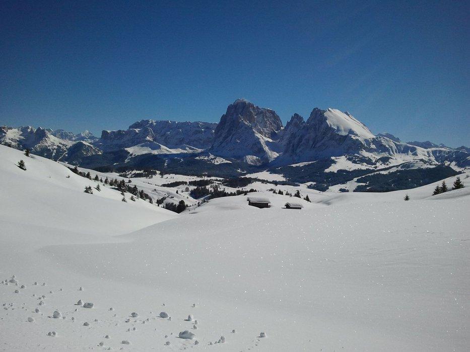 Alpe di Siusi - Condizioni piste 22-23-24 Febbraio 2014