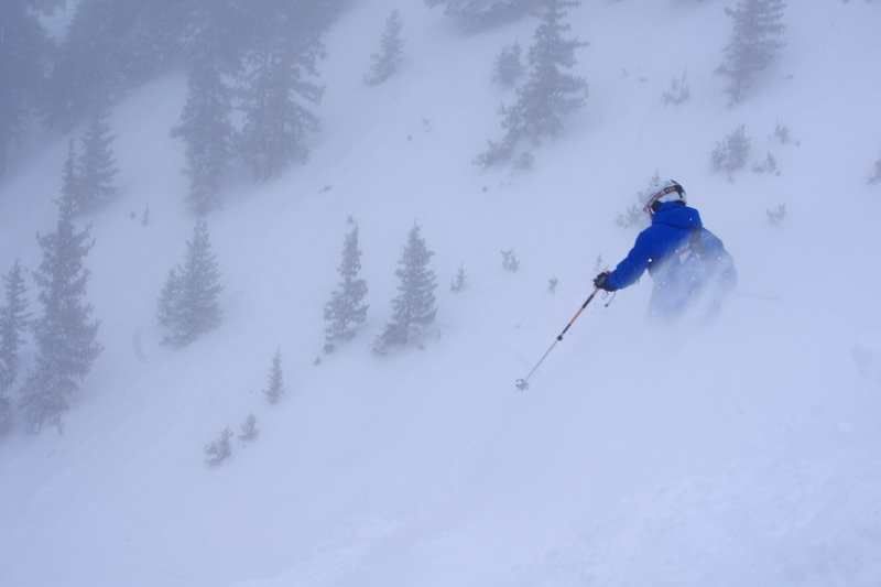 Trekking for powder. - ©Arapahoe Basin