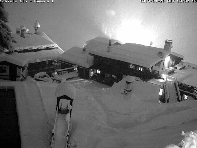 Bad Gastein, Austria March 24th, 2014 - © Facebook Schiefe Alm