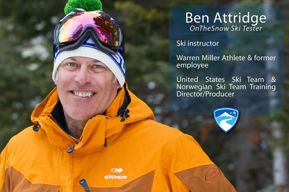 "Ben Attridge, 40-something. If you could ski with anyone (past, present or future) who would it be? ""Alberto Tomba or Joey Stoeger."" - ©Cody Downard Photography"
