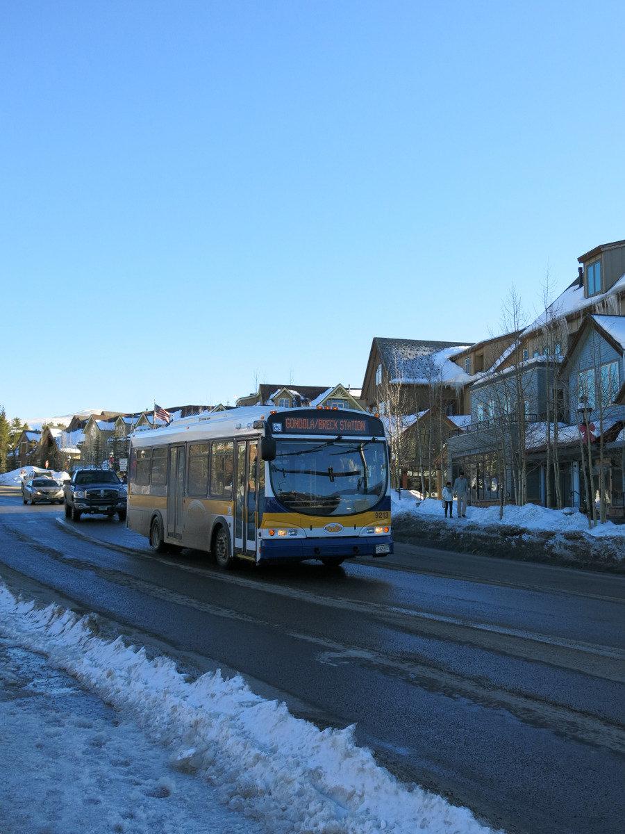 Autobus v Breckenridge - © Micaela Romani