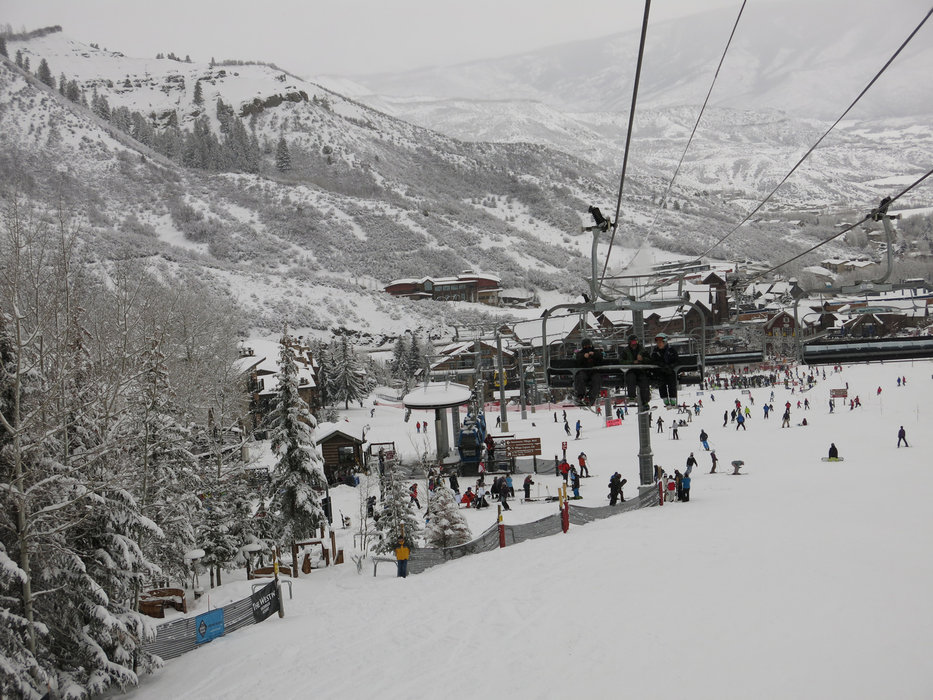 Busy slopes in Snowmass - ©Micaela Romani