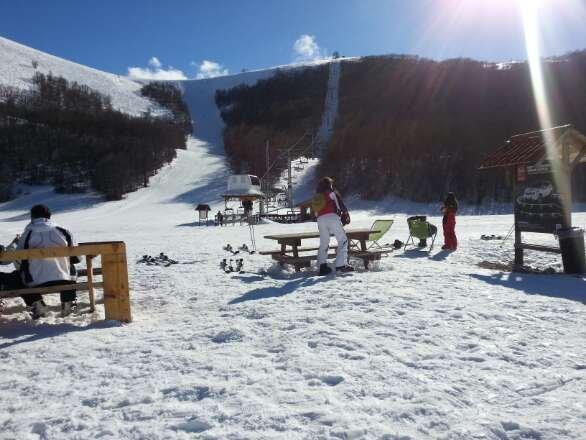 Campo Felice - Neve di Marzo 2014