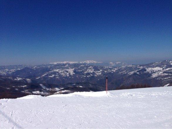 Cimone - Neve di Marzo 2014