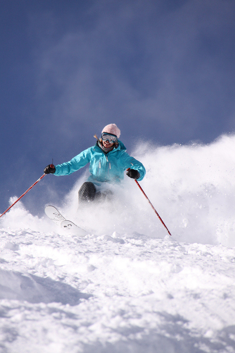 Clear skies ahead call for bluebird pow days at Alta. - © Courtesy of Alta Chamber & Visitor's Bureau