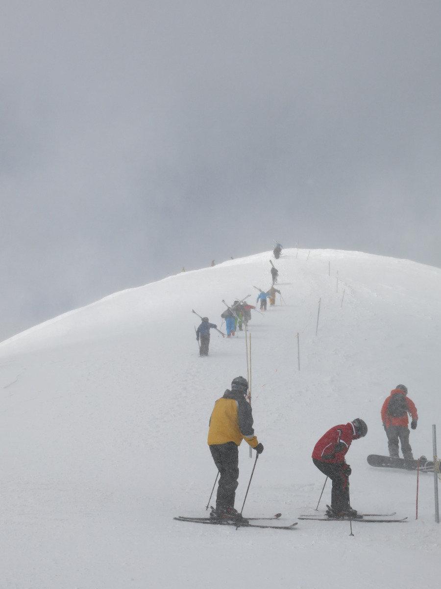 Climbing to the top in Breckenridge - ©Micaela Romani