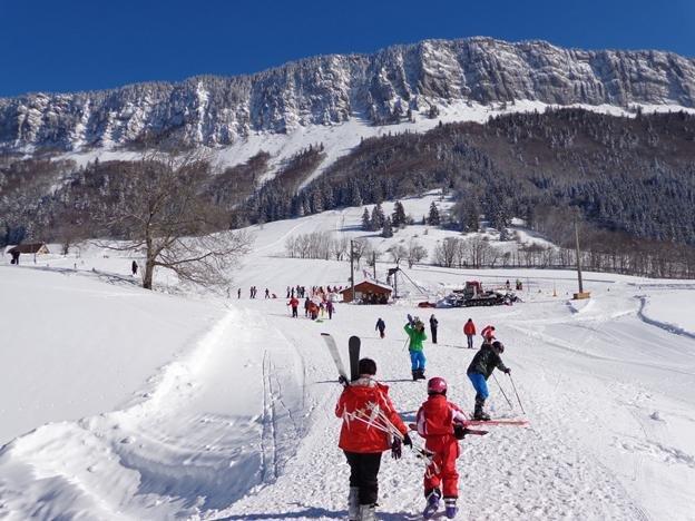 Domaine des Coulmes (Col de Romeyère) dans l'Isère
