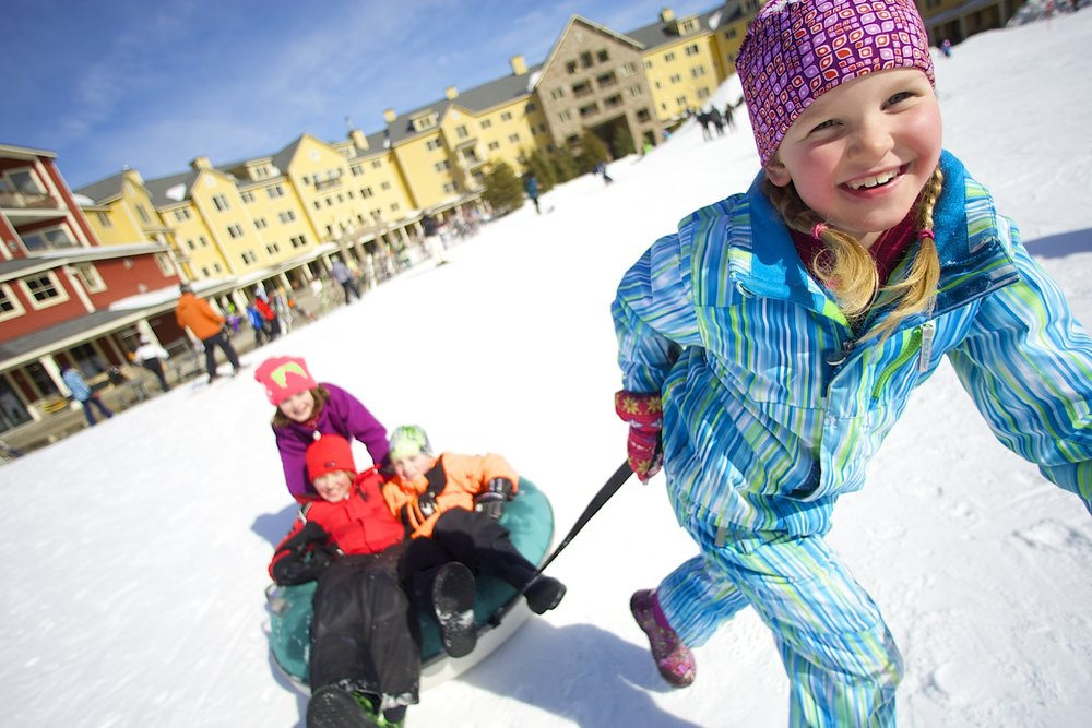 Okemo has uncovered the perfect formula for family-fun activities. - © Okemo Mountain Resort