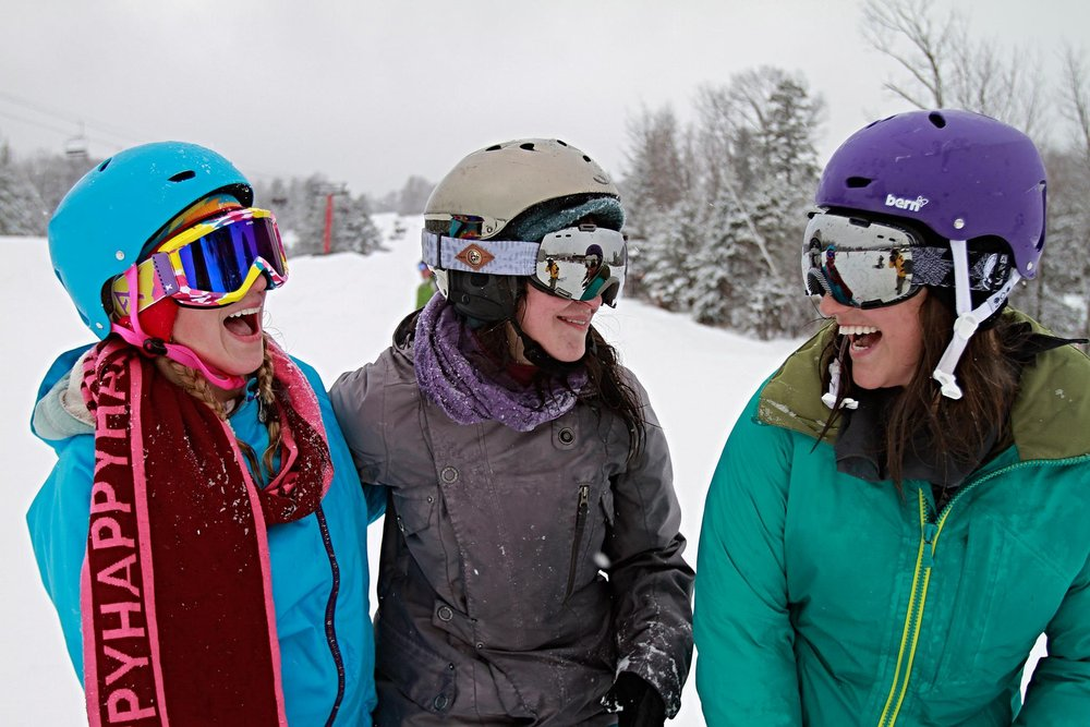 Female shredders can kick off college week at Hunter with the Burton Women's Camp. - © Hunter Mountain