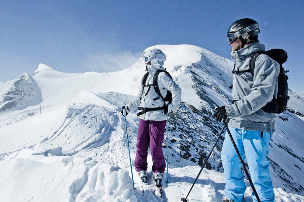 Kitzsteinhorn nabízí i četné freeridové lyžařské terény - © Gletscherbahnen Kaprun AG