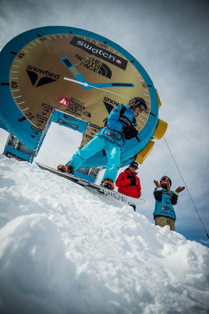 Freeride World Tour 2014 Snowbird - ©freerideworldtour.com / Carlier