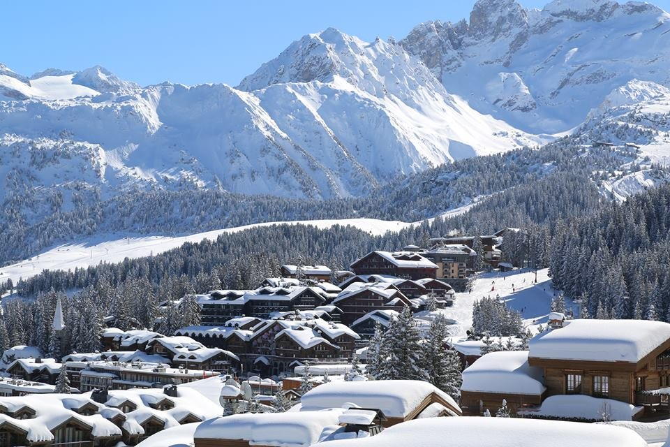 Fresh snow in Courchevel, France - ©Courchevel Tourism