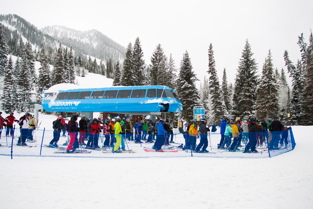 There's enough terrain off the Gadzoom lift to keep us busy for three days. - ©Cody Downard Photography