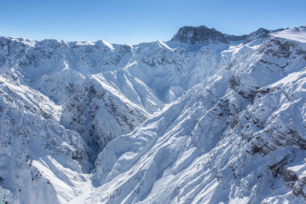 Grandiose Berglandschaft